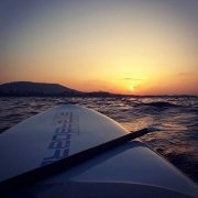Pre season practice... #suprhodes #supgreece #supupwind #supdownwind #starboardsup #starboardgreece #supworkout #supsunset