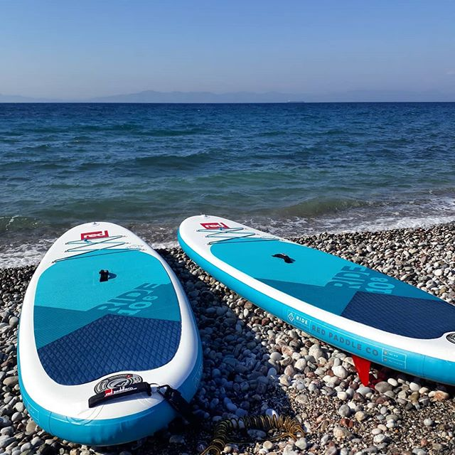 First of the new boards have arrived.  #redpaddlegreece #redpaddleco #standuppaddle #suprhodes