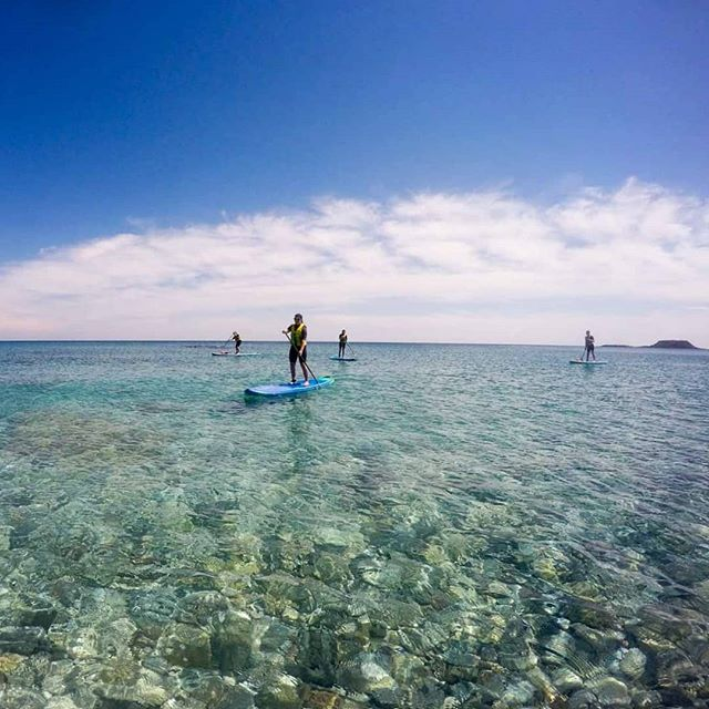First trip of the season. Doesn't that water look amazing.. #suprhodes #supgreece #supadventure #standuppaddle
