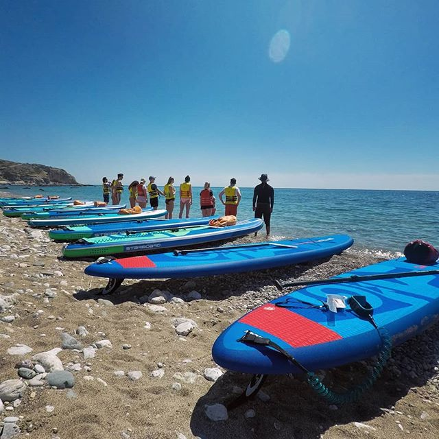 Getting ready for the big adventure   #suprhodes #supadventure #standuppaddle #standuppaddlelesson #sup #suplife #paddleboarding #starboardsup #starboardgreece