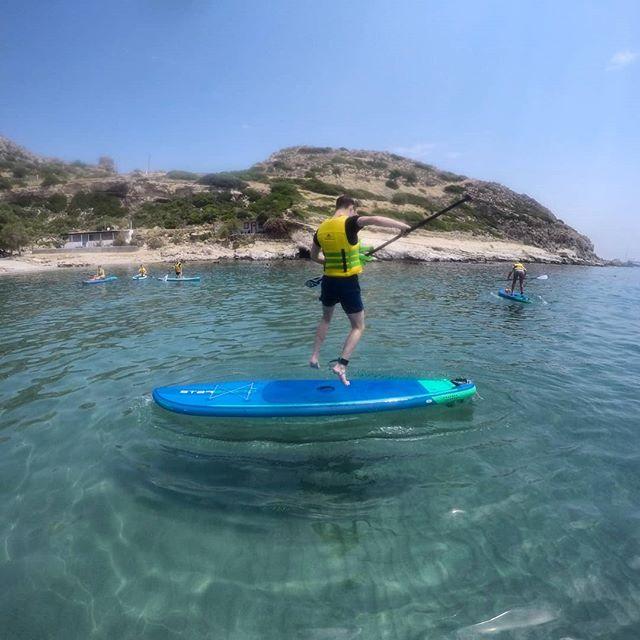 Rock & Roll  #suprhodes #supadventure #supjump #supfreestyle #paddleboarding #starboardsup #starboardgreece