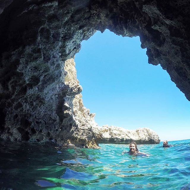 Each trip with us includes a swim break in one of several caves found along the stunning Rhodes coastline.  #supadventure #seacave #stegnabeach #suprhodes