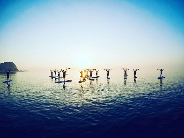 There are still a few spaces available for our incredible Sunrise SUP Tour this Thursday. Reserve your spots today!  #supyoga #supyogagreece #sunrisepaddle #perfectpaddle #suprhodes #stegnabeach #rhodes #rhodesisland #rhodesyogaexperience