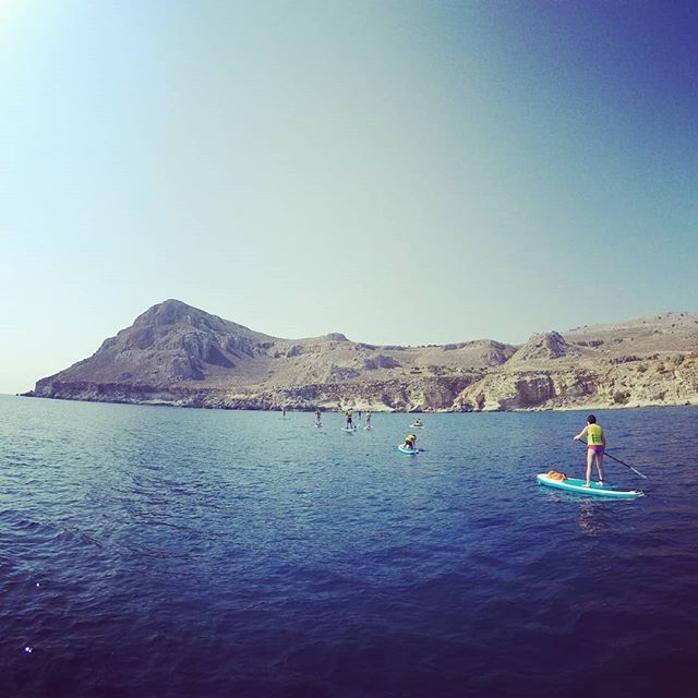 Still sunny and warm here on Rhodes... perfect for a sup adventure.  #suprhodes #supgreece #standuppaddling #supadventure  #rhodes #rhodesisland