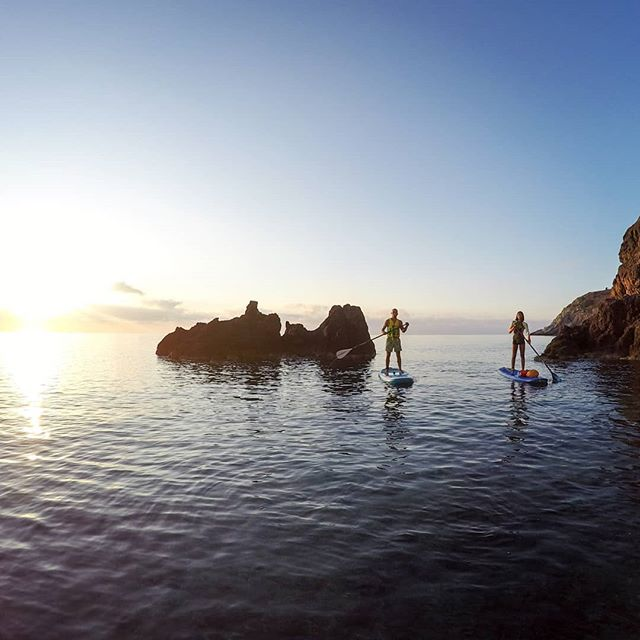 Sup at sunrise... a truly magical experience  #sunrisepaddle #suprhodes #paddleboarding #sup #suplife #sunrisesup #rhodes #standuppaddling #supadventure  #supgreece #supyoga